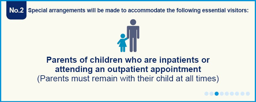 Exceptions for children who are in or outpatients