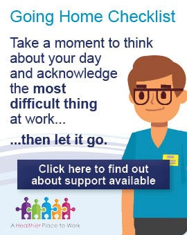 Wellbeing - Let It Go: Click here to find out more about support available