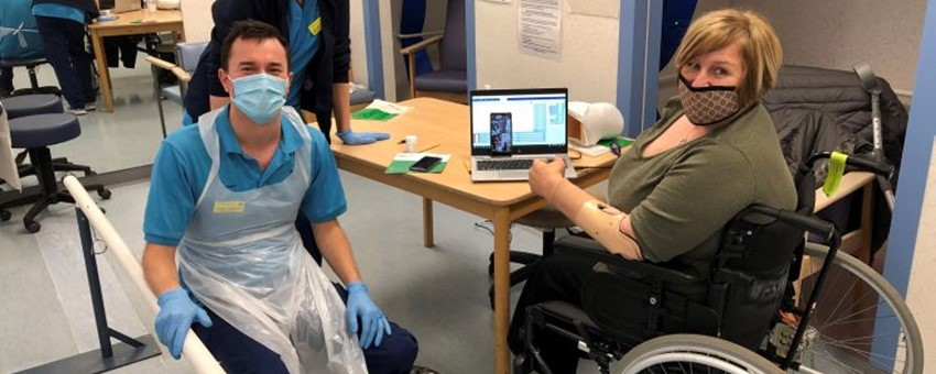 First NHS patient in the UK receives new 'Michelangelo' hand